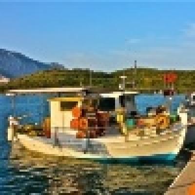 Риболов в Керамоти, Гърция