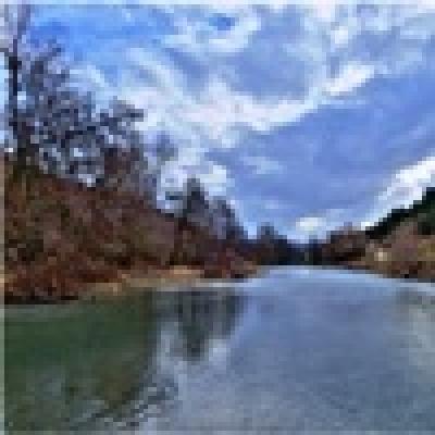 Река Тополница - Кефал