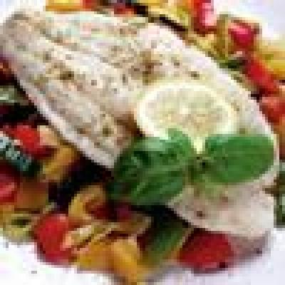 Бяла риба в сол