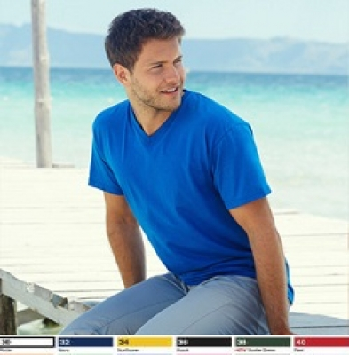 № 103 - Мъжки тениски V-neck - 160гр