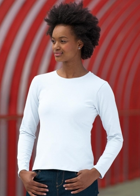 Дамски тениски с дълъг ръкав 215гр