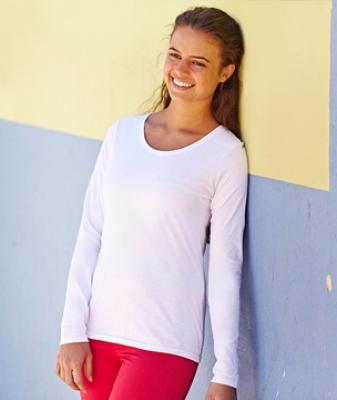 Дамски тениски с дълъг ръкав 165гр