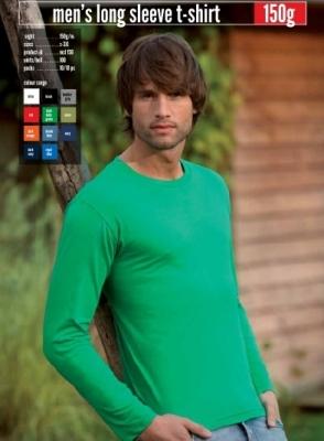Мъжки тениски KEYA 150гр дълъг ръкав