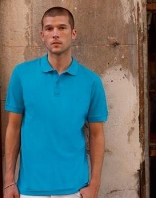Мъжки тениски тип Лакоста Fruit of the Loom Premium POLO - 180гр