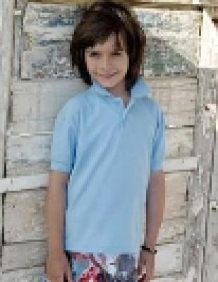 Детски тениски тип лакоста POLO 65/35 - 180гр