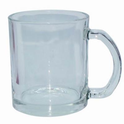 Стъклена чаша с пълноцветен печат