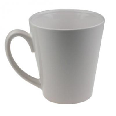 Бяла, конусовидна чаша за пълноцветенпечат