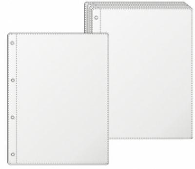 КОЖЕНИ МЕНЮТА - Джобове за менюта, прозрачни с размер А4 и 3/4 от А4