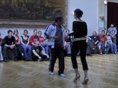 Introduction to Dancing on2 - intermediates