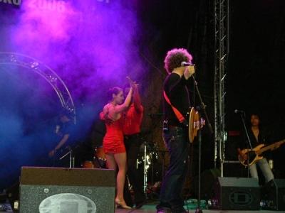 на сцената :)