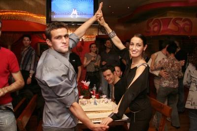 Моника, Наско и тортата