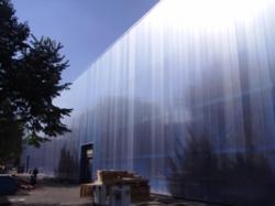 Фасада  от поликарбонат  на  промишлени  халета  - 4500 м2 ЗММ Силистра