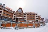 Банско - Иван Рилски - фасада зима